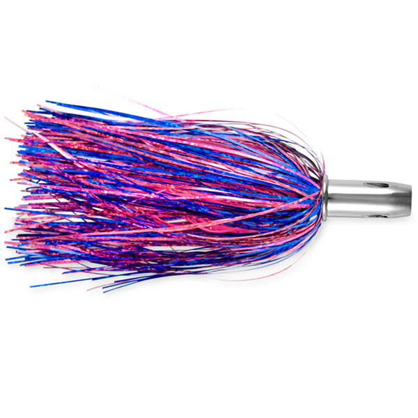 Billy Baits, Master Hooker Lure, Blue Fuchsia/Pink, Concave Head, 5.5 in (14 cm)