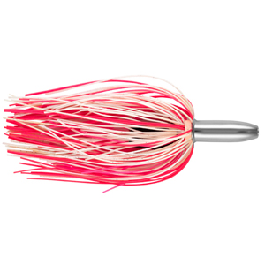 Billy Baits, Mini Turbo Slammer Lure, Pink/White/Pink, Concave Head, 5.5 in (14 cm)