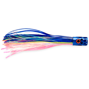 Billy Baits, Magnum Turbo Whistler Lure, Blue/Pink/Pearl Skirt, 2 oz (56.6 g) Head
