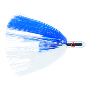 Billy Baits, Turbo Slammer Lure, Large 2.5 oz (70.9 g), Chrome Head, Blue/White, Pearl/CrystalFlash, 8.25 in (21.6 cm)