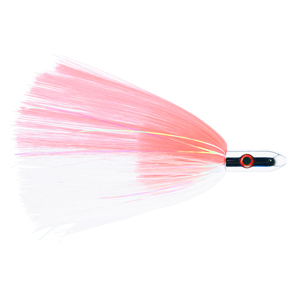 Billy Baits, Turbo Slammer Lure, Large 2.5 oz (70.9 g), Chrome Head, Pink/White, Pearl/Crystal Flash, 8.25 in (21.6 cm)