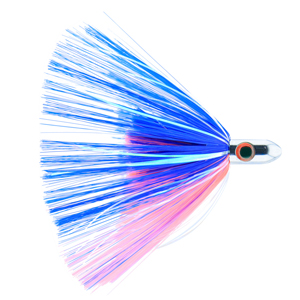Billy Baits, Turbo Slammer Lure, Small 1 oz (28.3 g), Chrome Head, Blue/Pink, Pearl/Crystal Flash, 4.25 in (10.8 cm)