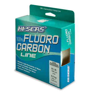 100% Fluorocarbon Line, 20 lb (9.0 kg) test, .017 in (0.42 mm) dia, Clear, 1000 yd (914 m)