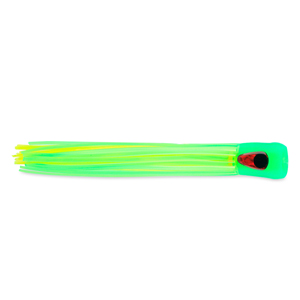 C&H, Alien Chugger Lure, Green/Chartreuse, 6.5 in (16.5 cm)