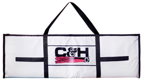 C&H, Tournament Fish Bag, Medium 20 in x 64 in (50.8 cm x 162.5 cm), White