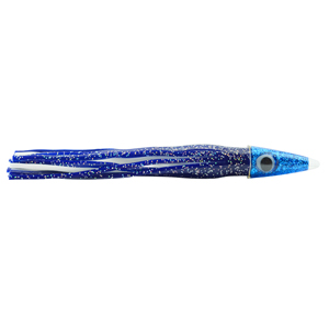 C&H, Tuna Tango XL Lure, Blue/White Skirt, 2.5 oz (70.8 g) Head, 8.5 in (21.5 cm)
