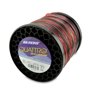 Quattro Mono Line, 300 lb (136.0 kg) test, .075 in (1.90 mm) dia, 4-Color Camo, 750 yd (686 m)