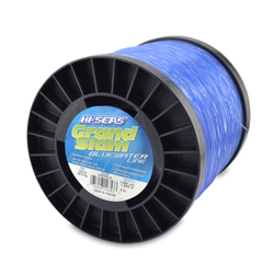 Grand Slam Bluewater Line, 130 lb (58.9 kg) test, .047 in (1.20 mm) dia, Ocean Blue, 1850 yd (1692 m)