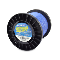 Grand Slam Bluewater Line, 50 lb (22.6 kg) test, .028 in (0.70 mm) dia, Ocean Blue, 3000 yd (2743 m)