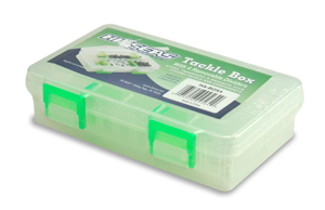 Tackle Box, 1.5 x 3.5 x 6 in (3.8 x 8.9 x 15.2 cm), 4 Moveable Dividers