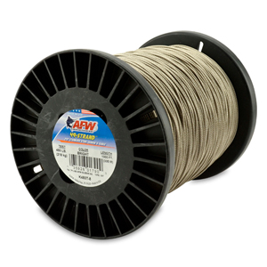 49 Strand, 7x7 Stainless Steel Shark Leader Cable, 480 lb (218 kg) test, .062 in (1.57 mm) dia, Bright, 1000 ft (305 m)