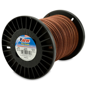 49 Strand, 7x7 Stainless Steel Shark Leader Cable, 800 lb (364 kg) test, .081 in (2.06 mm) dia, Camo, 500 ft (152 m)