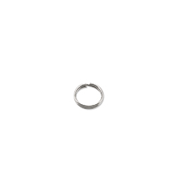 Mighty Mini Stainless Steel Split Ring, Size #2, 39 lb (18 kg) test, Bright, 100 pc