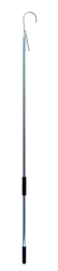 Gaff, 3 in (7.6 cm) Stainless Steel Hook, 6 ft (1.8 m) Aluminum Shaft with Foam Grip