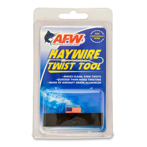 Haywire Twist Tool, use with Size #3-#14 Tooth Proof Wire