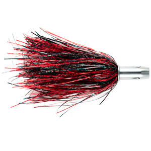 Billy Baits, Master Hooker Lure, Black-Red/Red, Concave Head, 5.5 in (14 cm)