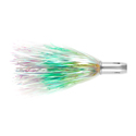 Billy Baits, Master Hooker Lure, Pearl/Chrtrs/GreenFiretip, Concave Head, 5.5 in (14 cm)
