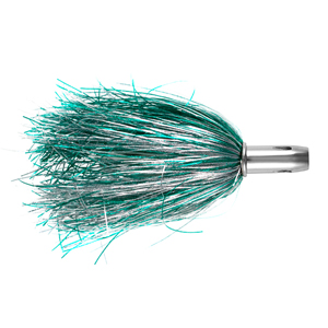 Billy Baits, Master Hooker Lure, Green/Silver/White, Concave Head, 5.5 in (14 cm)