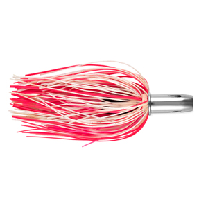 Billy Baits, Master Hooker Lure, Pink/White/Pink, Concave Head, 5.5 in (14 cm)