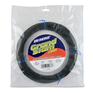 Grand Slam Mono Leader, 300 lb (136.0 kg) test, .075 in (1.90 mm) dia, Black, 100 yd (91 m)