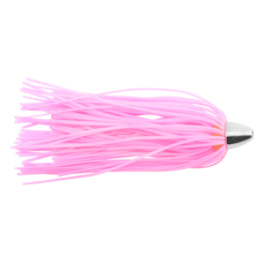 C&H, King Buster Lure, Pink/Glow Skirt, 1/8 oz (3.5 g) Head, 2.5 in (6.35 cm), 3 pc