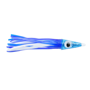 C&H, Tuna Tango Lure, Blue/White Skirt, 1.75 oz (49.6 g) Head, 5.75 in (14.6 cm)