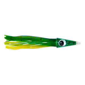 C&H, Tuna Tango Lure, Dolphin Skirt, 1.75 oz (49.6 g) Head, 5.75 in (14.6 cm)