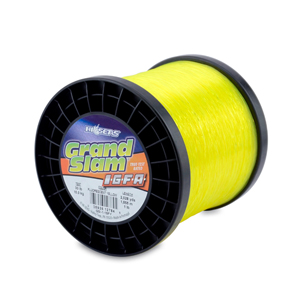 Grand Slam IGFA Mono Line, Class 15, 30 lb (15 kg) test, .020 in (0.52 mm) dia, Fluoro Yellow, 1lb, 2028 yd (1855 m)