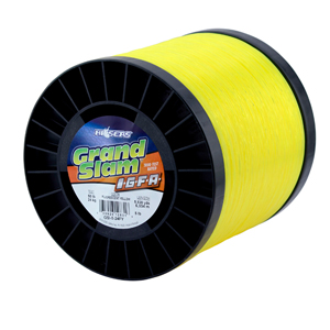 Grand Slam IGFA Mono Line, Class 24, 50 lb (24 kg) test, .027 in (0.69 mm) dia, Fluoro Yellow, 5lb, 5830 yd (5330 m)