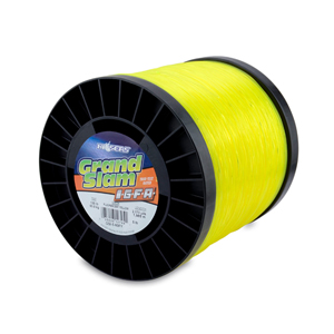 Grand Slam IGFA Mono Line, Class 60, 130 lb (60 kg) test, .045 in (1.13 mm) dia, Fluoro Yellow, 5lb, 2173 yd (1989 m)