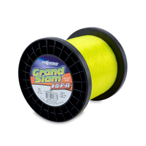 Grand Slam IGFA Mono Line, Class 15, 30 lb (15 kg) test, .020 in (0.52 mm) dia, Fluoro Yellow, 1200 yd (1098 m)