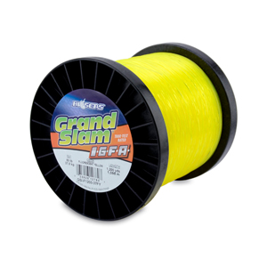 Grand Slam IGFA Mono Line, Class 37, 80 lb (37 kg) test, .034 in (0.87 mm) dia, Fluoro Yellow, 1200 yd (1098 m)