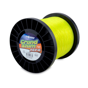 Grand Slam IGFA Mono Line, Class 60, 130 lb (60 kg) test, .045 in (1.13 mm) dia, Fluoro Yellow, 1200 yd (1098 m)