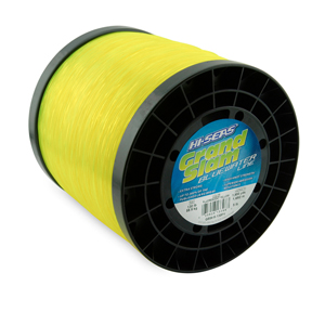 Grand Slam Bluewater Line, 130 lb (58.9 kg) test, .047 in (1.20 mm) dia, Fluorescent Yellow, 1850 yd (1692 m)