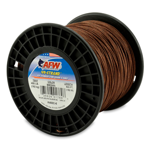 49 Strand, 7x7 Stainless Steel Shark Leader Cable, 400 lb (182 kg) test, .054 in (1.37 mm) dia, Camo, 500 ft (152 m)
