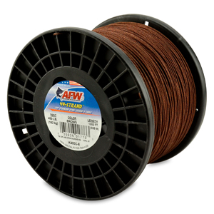 49 Strand, 7x7 Stainless Steel Shark Leader Cable, 400 lb (182 kg) test, .054 in (1.37 mm) dia, Camo, 1000 ft (305 m)