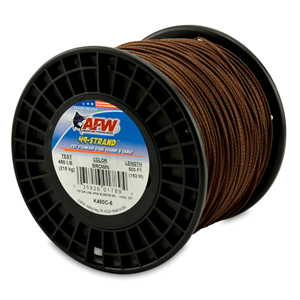 49 Strand, 7x7 Stainless Steel Shark Leader Cable, 480 lb (218 kg) test, .062 in (1.57 mm) dia, Camo, 500 ft (152 m)