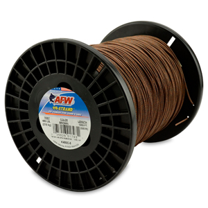 49 Strand, 7x7 Stainless Steel Shark Leader Cable, 480 lb (218 kg) test, .062 in (1.57 mm) dia, Camo, 1000 ft (305 m)