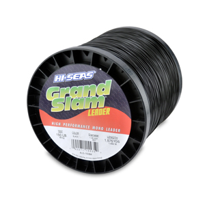 Grand Slam Mono Leader, 150 lb (68.0 kg) test, .051 in (1.30 mm) dia, Black, 1575 yd (1440 m)