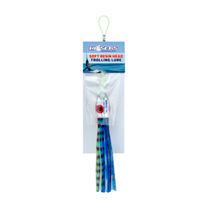 Killer Series, 4.7 in (12 cm) length, Blue/Mackerel, White/Blue/Red, 1 pc